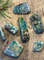 Kyanite, Green Drumed