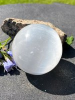 Selenite, White sphere AA 59-62mm