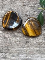 Tiger eye, No worry heart